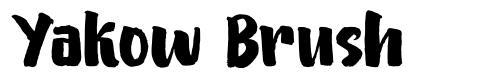 Yakow Brush fonte