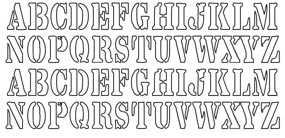 Yarrow font
