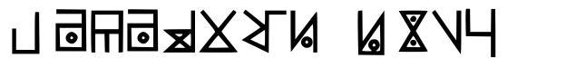 Yelekish Font fonte