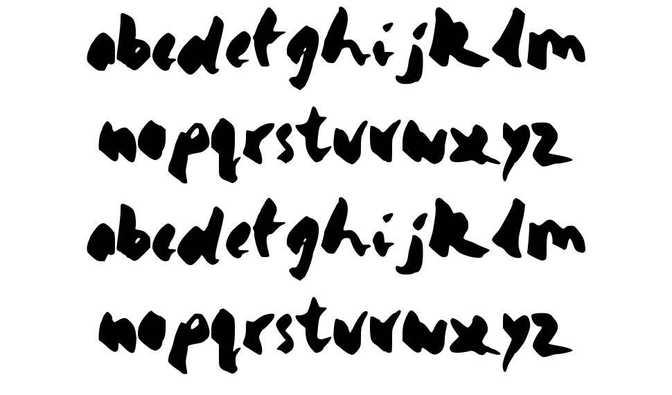 Yello písmo