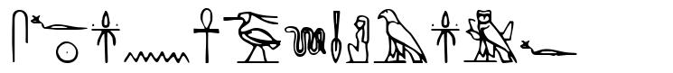 Yiroglyphics fonte