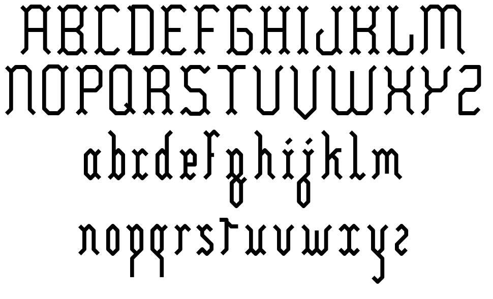 Yllia font
