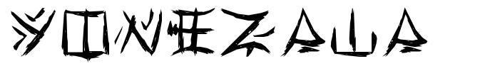 Yonezawa písmo