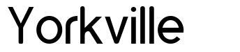 Yorkville font