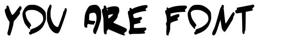 You Are Font 字形