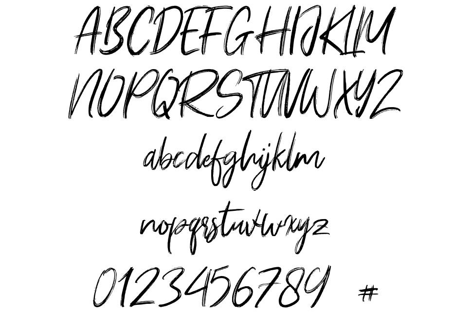 Young Robust font