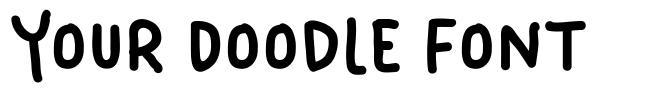 Your Doodle Font फॉन्ट