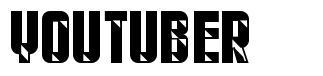 Youtuber font