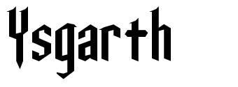 Ysgarth font