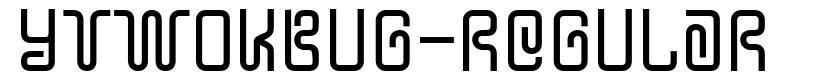 YTwoKBug-Regular font