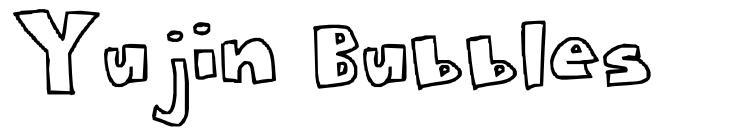 Yujin Bubbles फॉन्ट