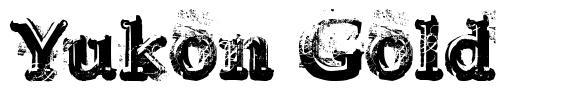 Yukon Gold 字形