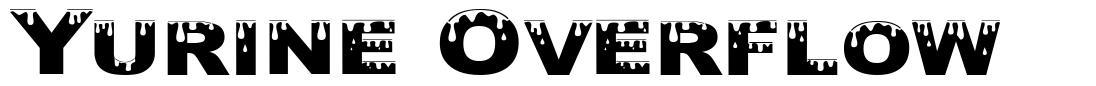 Yurine Overflow font