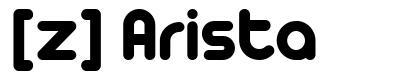 [z] Arista font