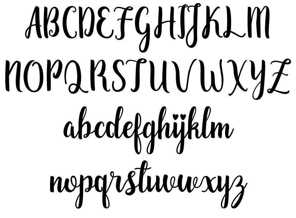 Zaheera font