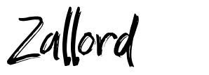 Zallord fuente