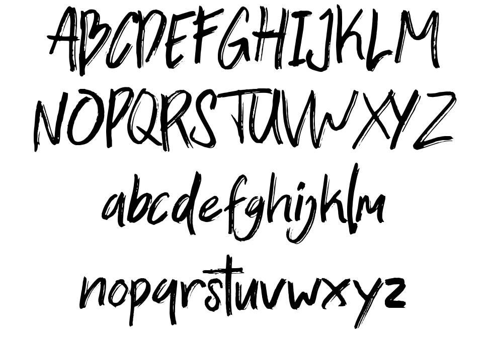 Zallord font