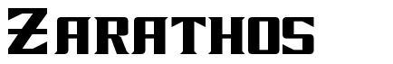 Zarathos font