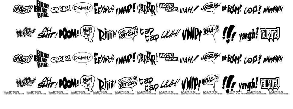 Zartz font