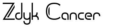 Zdyk Cancer font