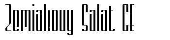 Zemiakovy Salat CE czcionkę