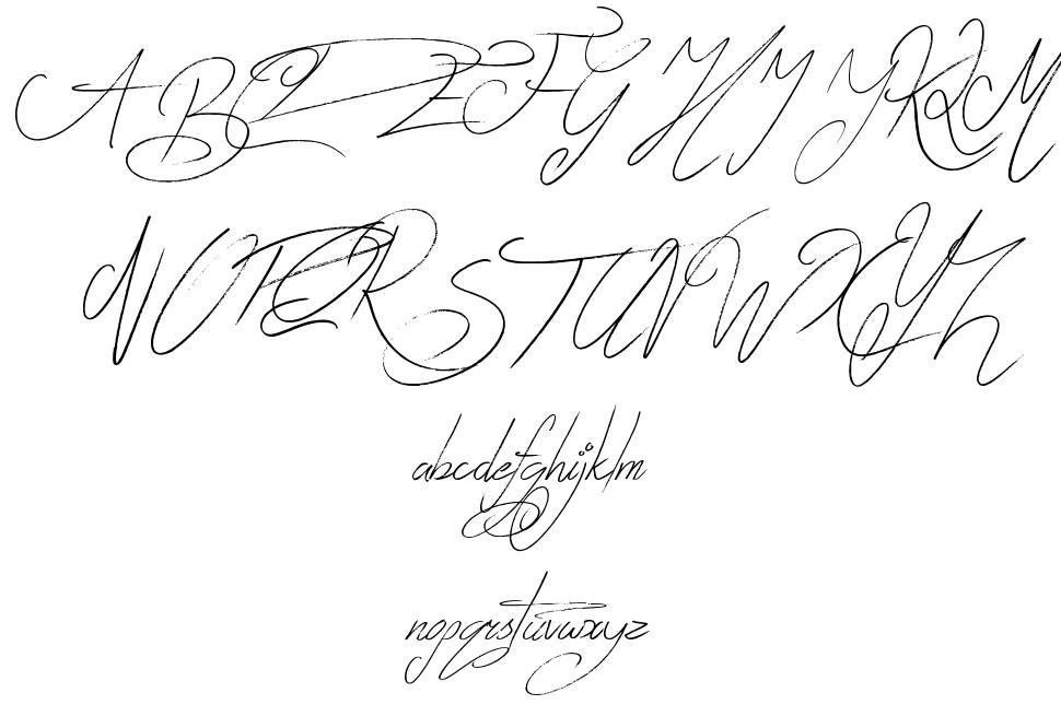 Zentaiges font