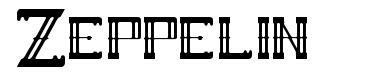 Zeppelin písmo