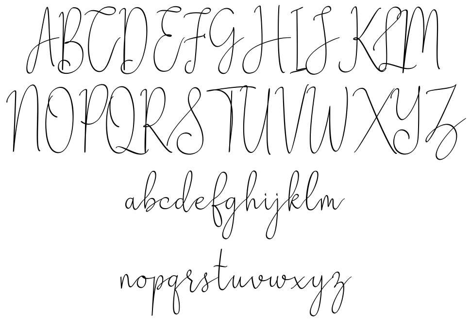 Zhafran шрифт