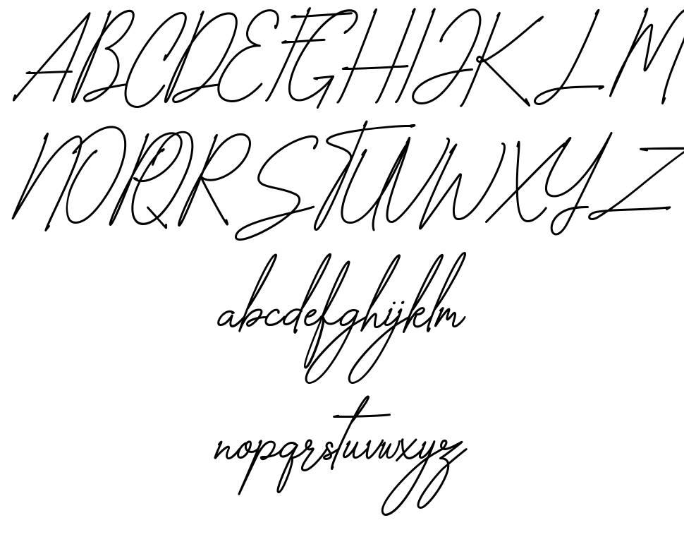 Zhegotte font
