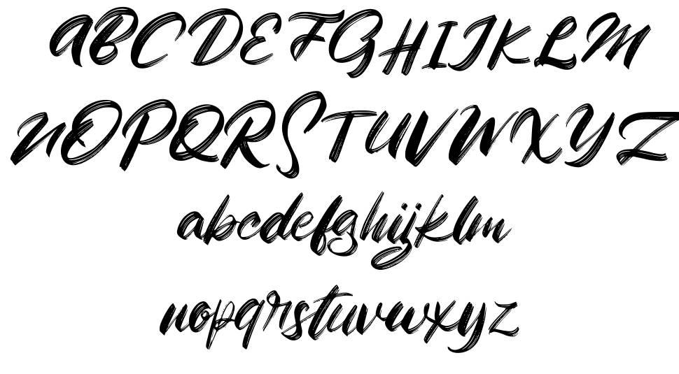 Zigas font