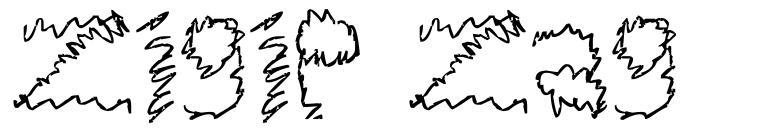 Zigie Zag font