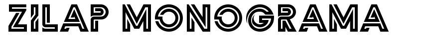 Zilap Monograma フォント