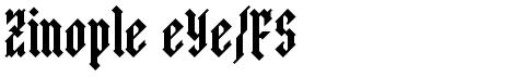 Zinople eYe/FS