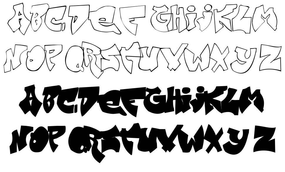 Zit Graffiti font