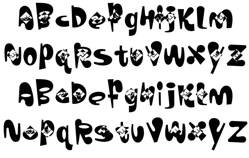 ZobooFont шрифт