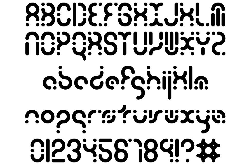 Zoetrope font