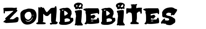 Zombiebites フォント