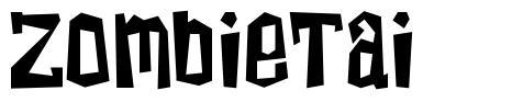 ZombieTai font