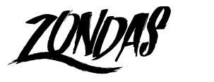 Zondas font