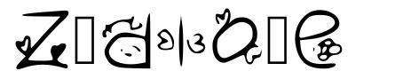 Zudlove font