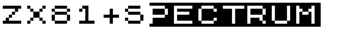 ZX81+Spectrum