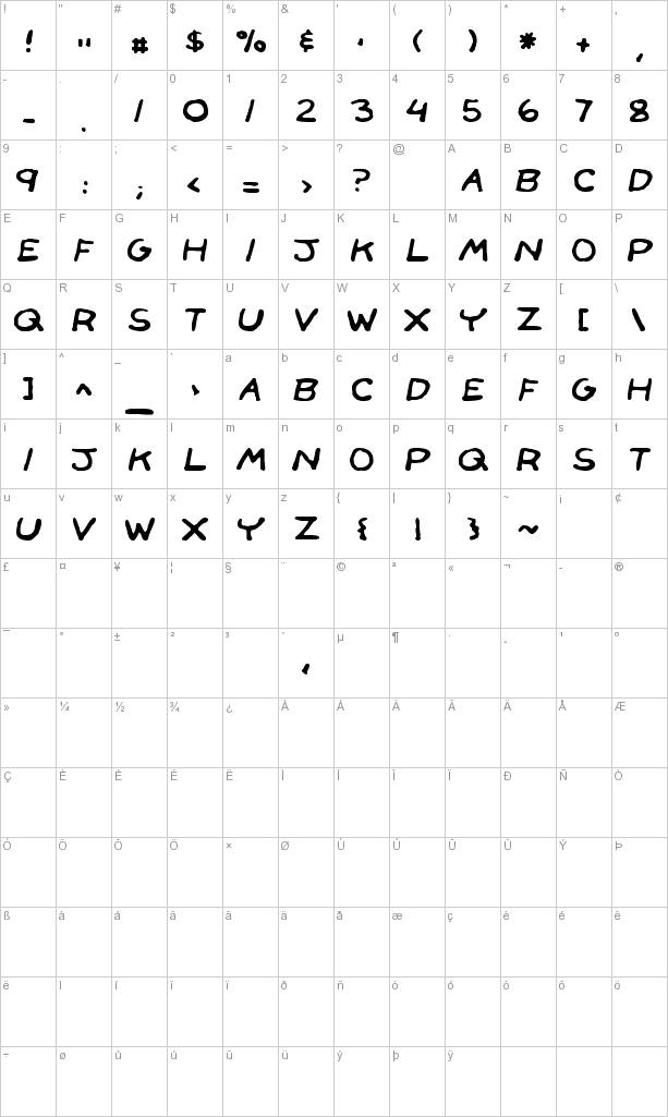 Free Face Front Font Download at FontRiver.