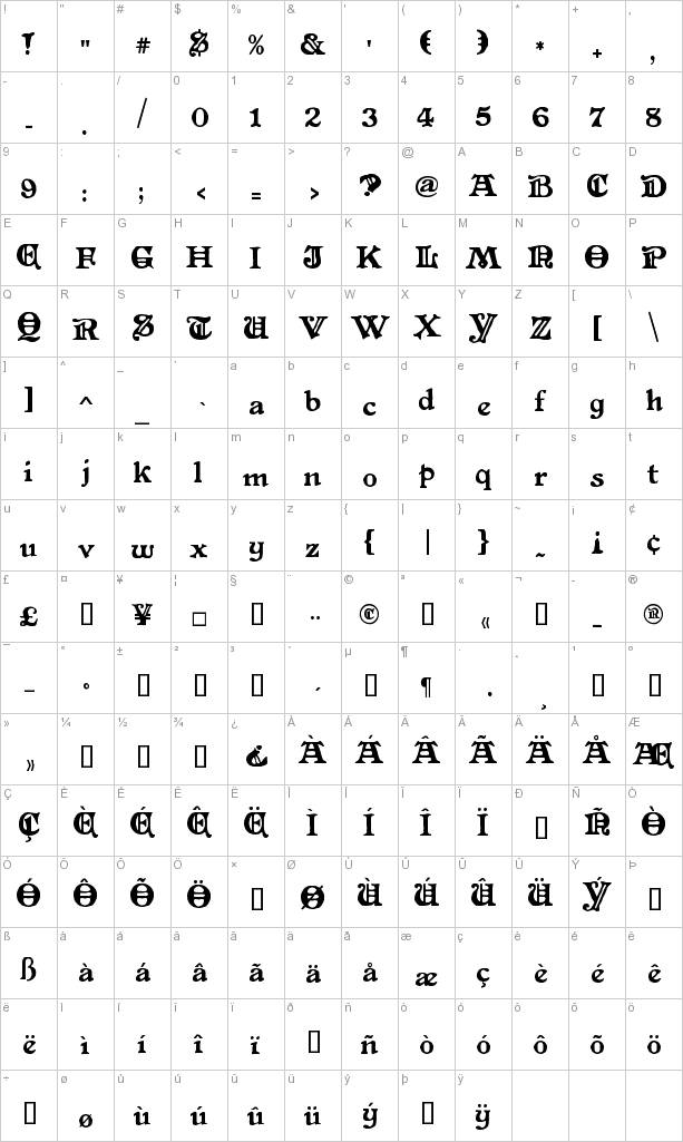 Free Primitive Font Download at FontRiver.