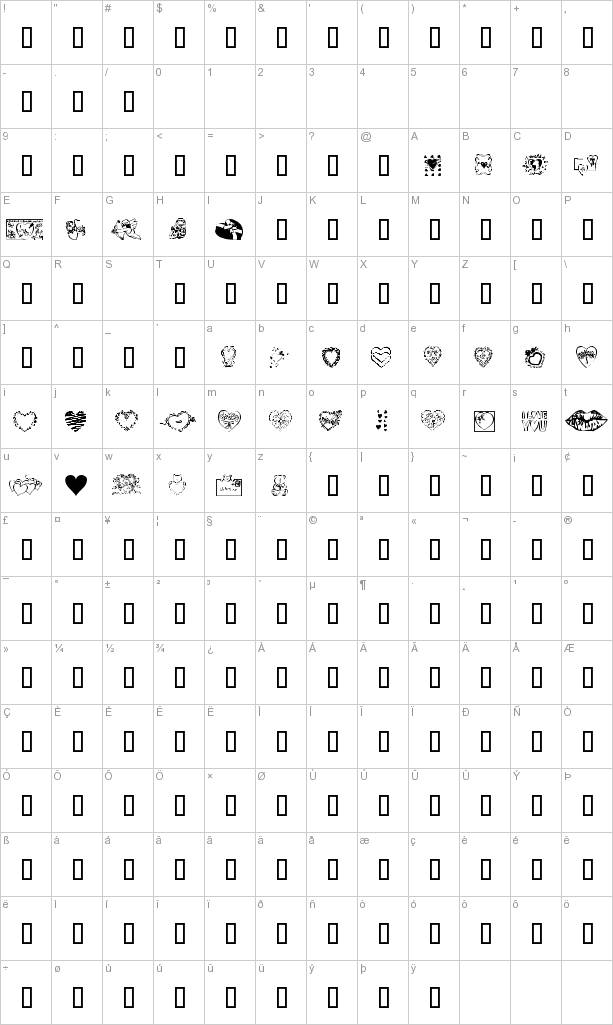 Free Valentine's Fonts Collection. A little bit of everything: Technology,